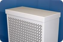 inexpensive radiator cover