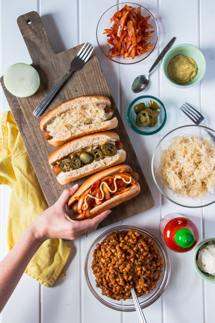 Elevate your next cookout with these amazing hot dog recipes from around America: Seattle, Kansas City and New York City.