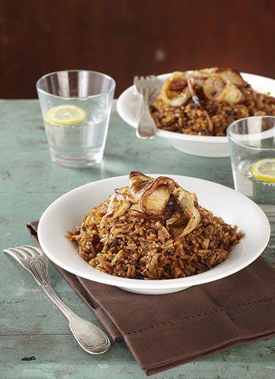 14 best arroz images on pinterest easy recipes mesas - Risotto arroz integral ...