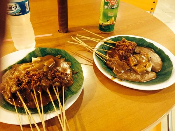we call #Sate but stranger called #Satay. one of the most #delicious #Indonesian #foods. you must try this one