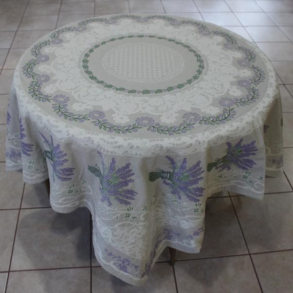 Coustellet Tapestry-weave Jacquard Tablecloth