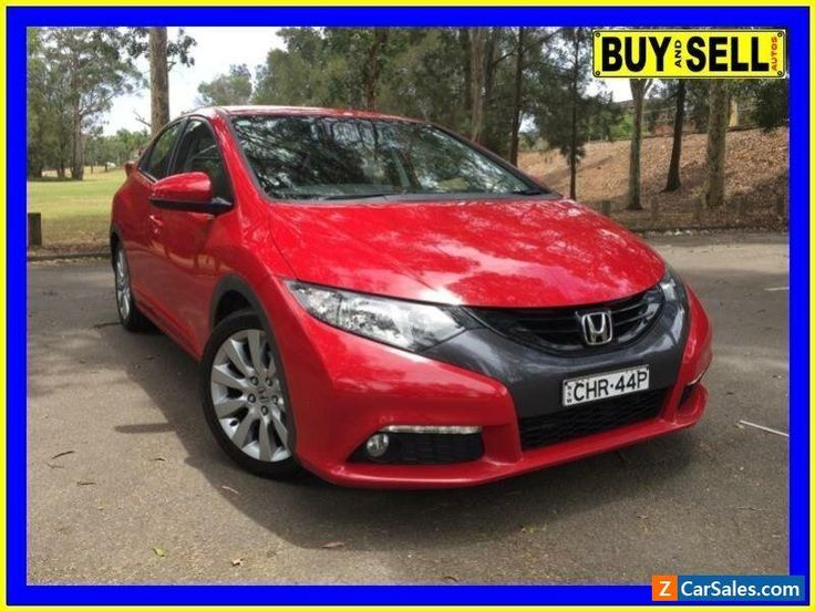 2012 Honda Civic FK VTi-L Red Automatic 5sp A Hatchback #honda #civic #forsale #australia