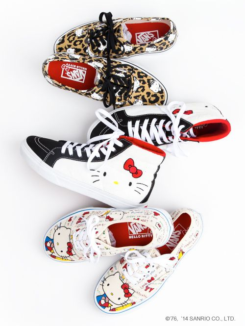 #Vans x #HelloKitty cool shoes for back-to-school