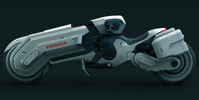 Peter-Norris-Honda-Chopper-00 / A concept work for HONDA motorcycle by Peter Norris