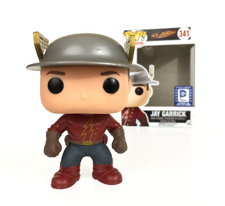 Funko Pop! Television: The Flash #341 Jay Garrick ☆DC Comics Legion of Collectors Exclusive☆ www.legionofcollectors.com