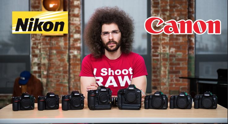 Nikon VS Canon Which To Buy: The ULTIMATE Battle
