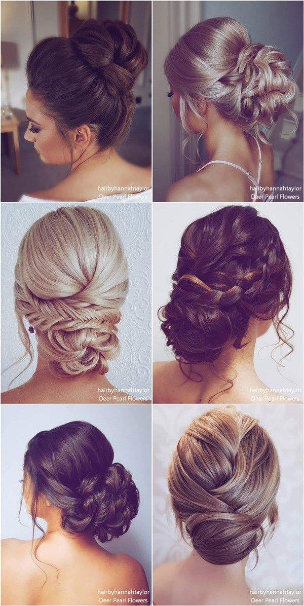 Long Wedding Hairstyles and Updos from Hair By Hannah Taylor – #hair #Hairstyles…