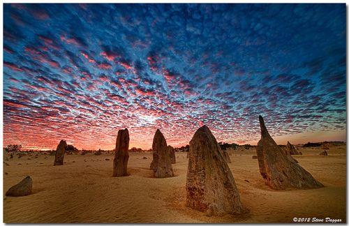The Pinnacles Desert, Western Australia (by Steve Daggar)