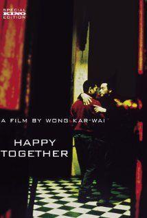 """Happy Together, 1997.  Wong Kar-Wai's brilliant homage to Manuel Puig's """"El beso de la mujer araña""""."""