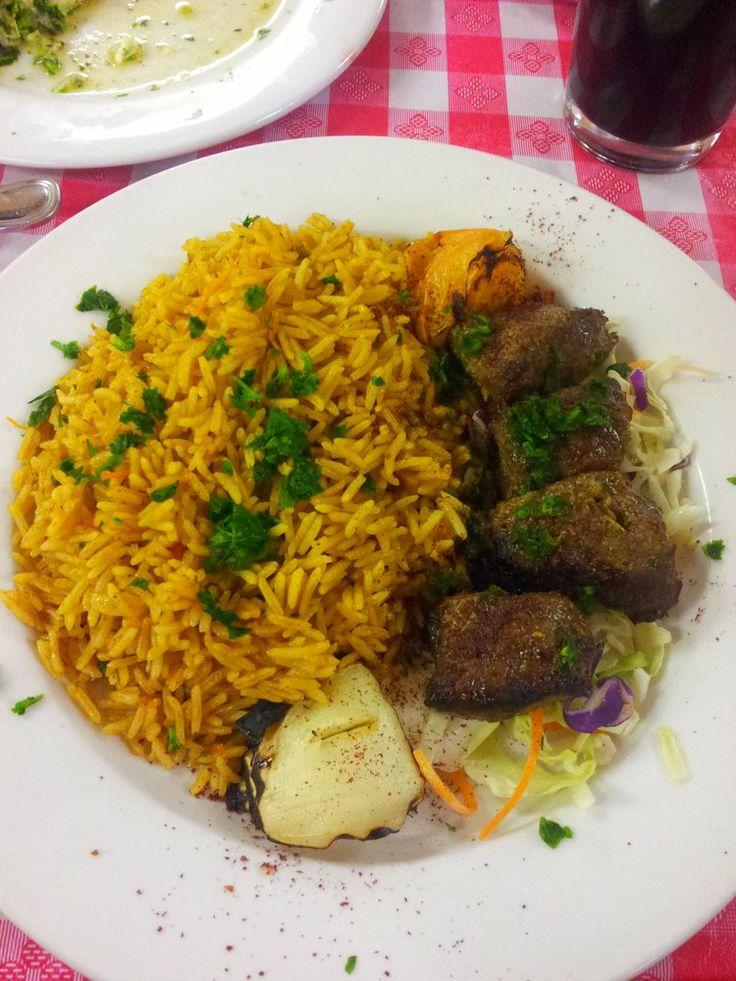 Shami Restaurant & Hookah Lounge, San Leandro. Lebanese.