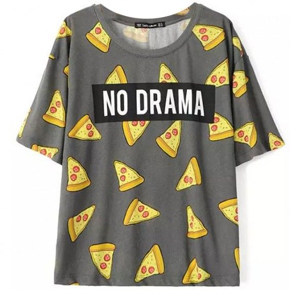 Pizza No Drama T-shirt