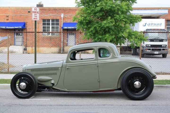 33 Ford Five Window Coupe By Ricky Bobby S Rod Shop