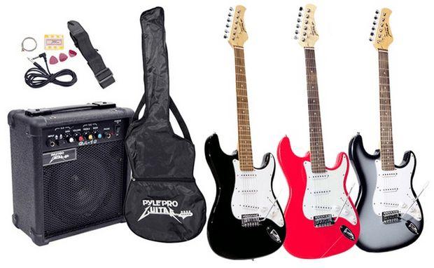 New #Deal Available - PylePro PEGKT15 Beginner Electric Guitar Package @ https://igrabbedit.com/pylepro-pegkt15-beginner-electric-guitar-package-2/