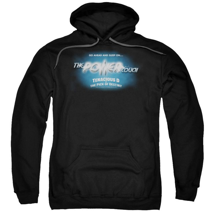 Tenacious D/Power Couch Adult Pull-Over Hoodie in