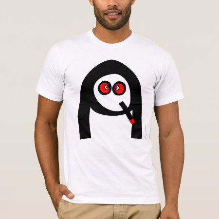Funny Smoking Nun Face T-Shirt - click to get yours right now!