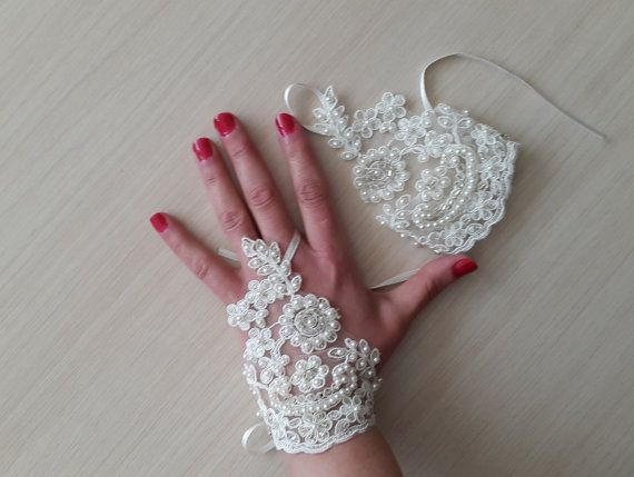 Hey, I found this really awesome Etsy listing at https://www.etsy.com/listing/271706230/weddingbridal-glovesivory-pearls