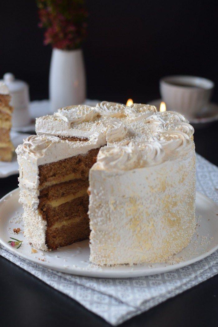 Bratapfel Creme Torte - Baked Appfel Birthday Cake (19)