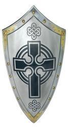 Templar Knight Scottish Cross Shield
