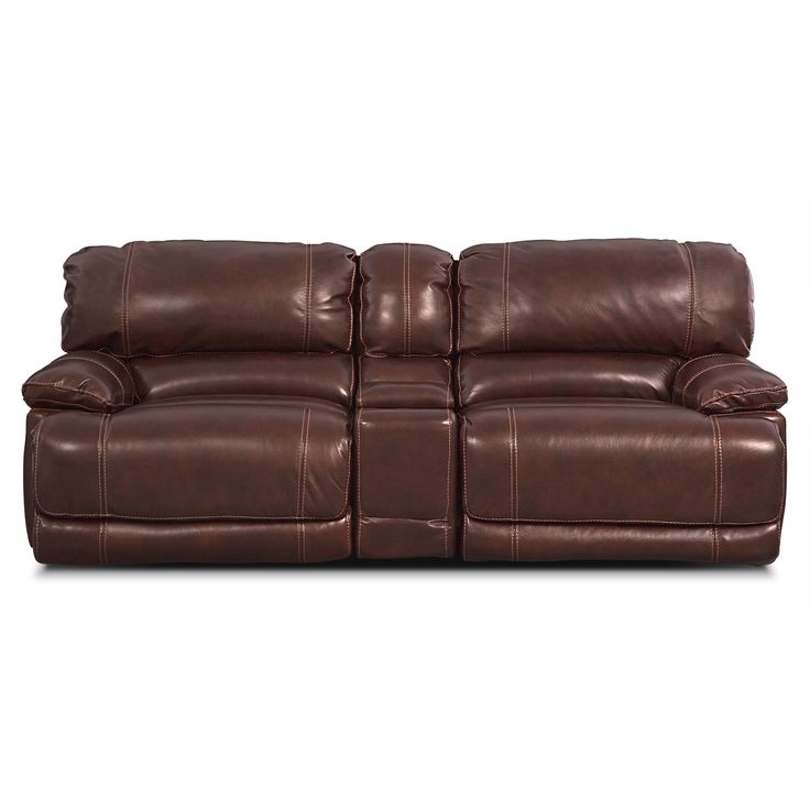 St  Malo III 3 Pc  Power Reclining Sofa with Console   Value City Furniture. 36 best Living Room Furniture Ideas images on Pinterest
