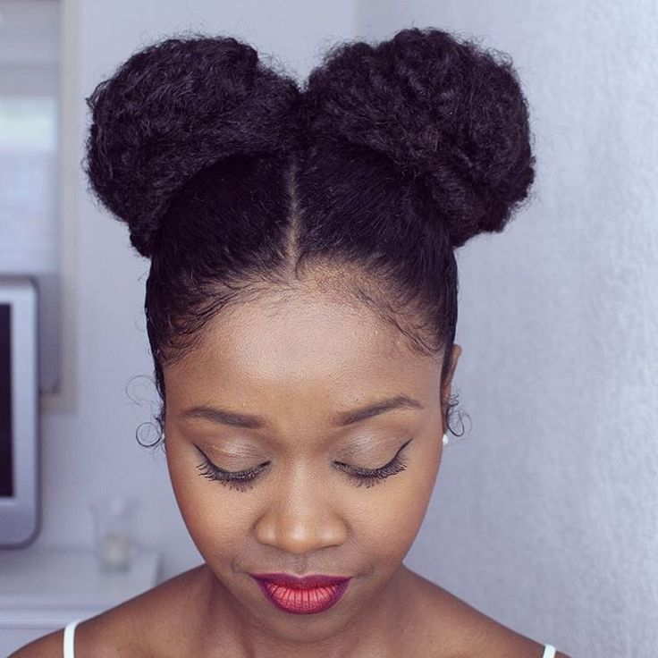 @flawlesshairstyle || Protective hairstyles. length retention hairstyles. buns. hairstyles for afro hair.