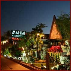 """The Mai Kai Restaurant in Fort Lauderdale:  One of the few """"Grand Polynesian Palaces of Tiki"""" still in operation today. It is the last restaurant/bar in existense carrying on the traditions of service and serving the original drink recipes of Don the Beachcomber's. The drinks are legendary.  If you're in Fort Lauderdale and you don't stop in you're missing out..."""