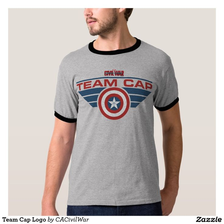 Team Cap Logo Shirt. Regalos, Gifts. #camiseta #tshirt