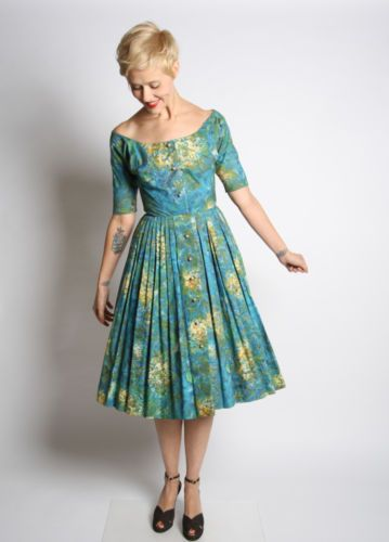 1950s Claire McCardell Marc Chagall Print Day Dress | eBay...The one that got away.