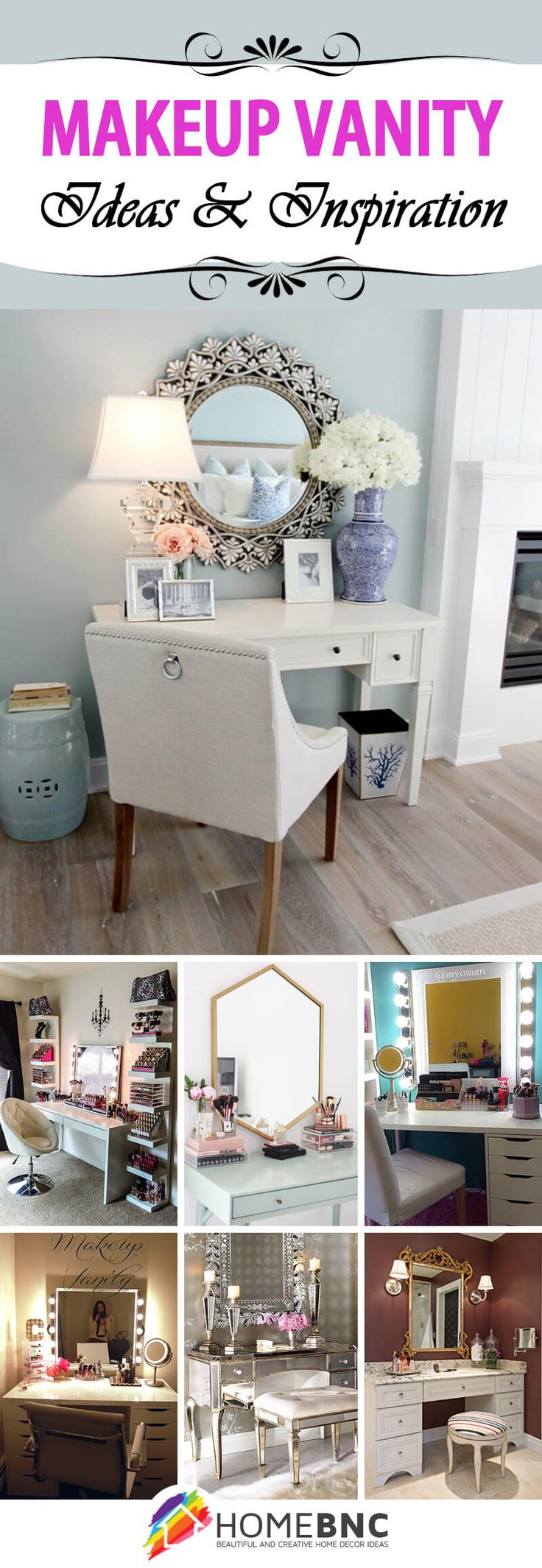 19 Makeup Vanity Ideas that Would Make Any Hollywood Starlet Jealous. 17 Best ideas about Teen Vanity on Pinterest   Room colors