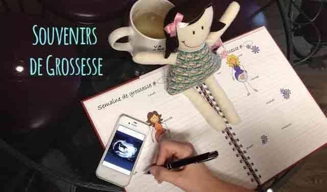 Des livres souvenirs de grossesse, d'enfance et d'adoption faits au Québec!