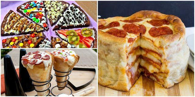 8 tipos de pizzas diferentes para fazer em casa
