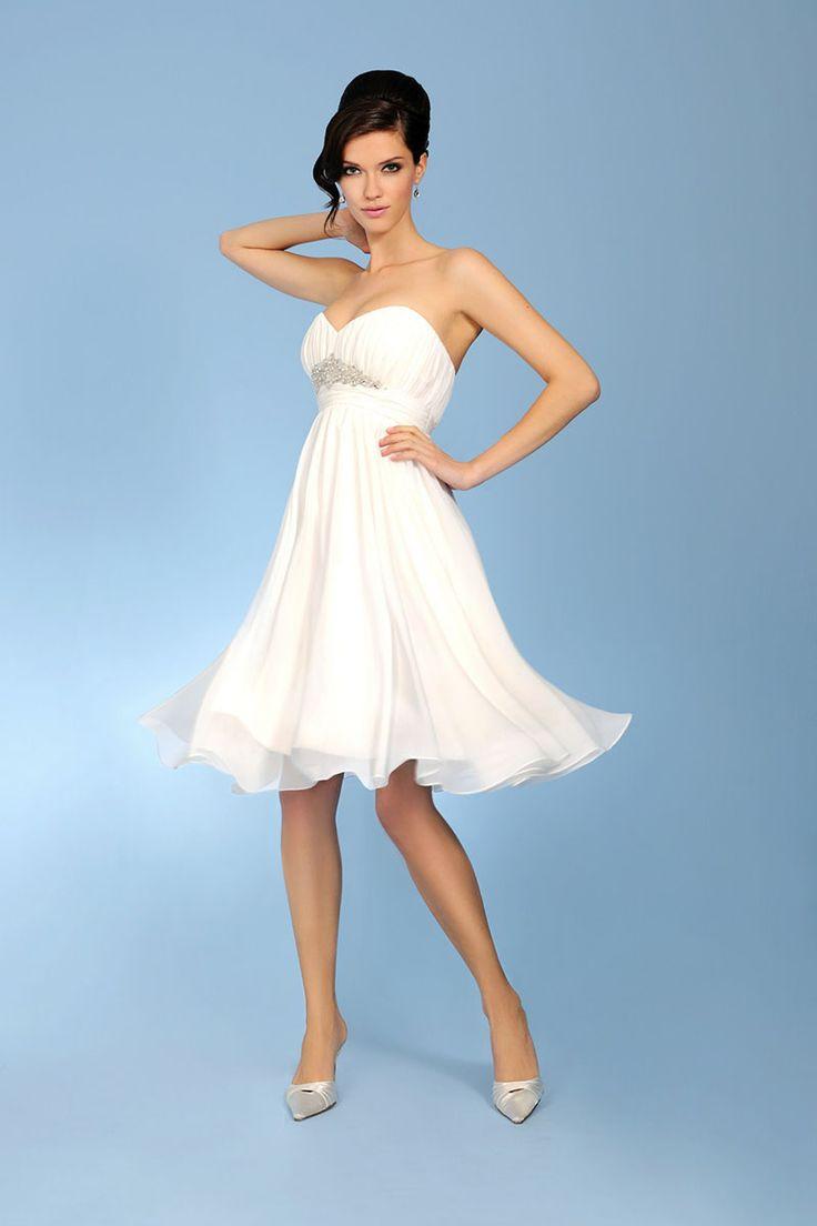 87 best Wedding dresses images on Pinterest | Short wedding gowns ...