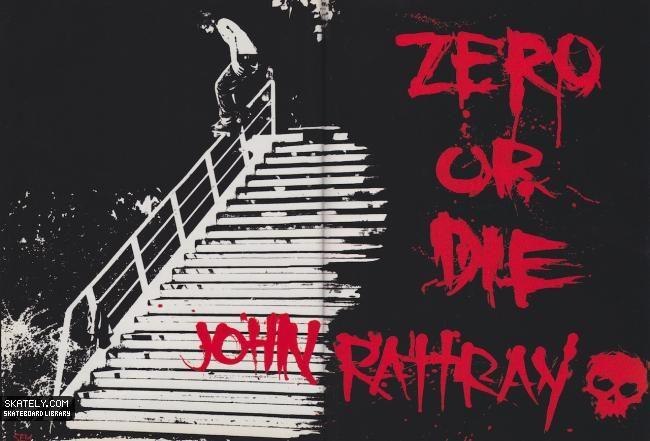 Zero Skateboards - John Rattray Ad (2003)