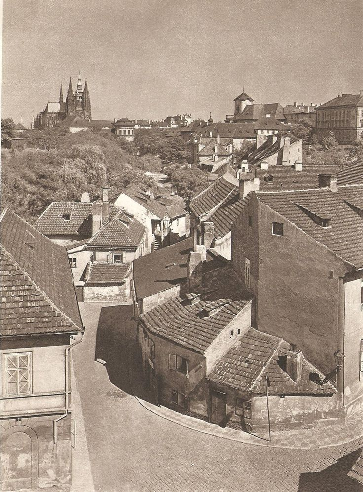 Prague, by J. Ehm, late 1950s