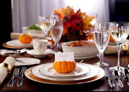 Tips on how to set a table for your thanksgiving dinner. #itkwd & 111 best Thanksgiving images on Pinterest | Thanksgiving dinner ...