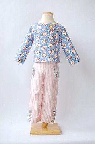 digital after-school shirt + pants sewing pattern