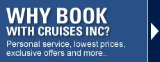 Find Cheap Cruises, Cruise Deals, and Last Minute Cruises right here. I'm Patricia Delgado, your Independent Vacation Specialist at Cruises Inc. Book your vacation with me and help save animals. I donate a portion of all profits to animal charities. Contact me to help you plan your dream vacation!