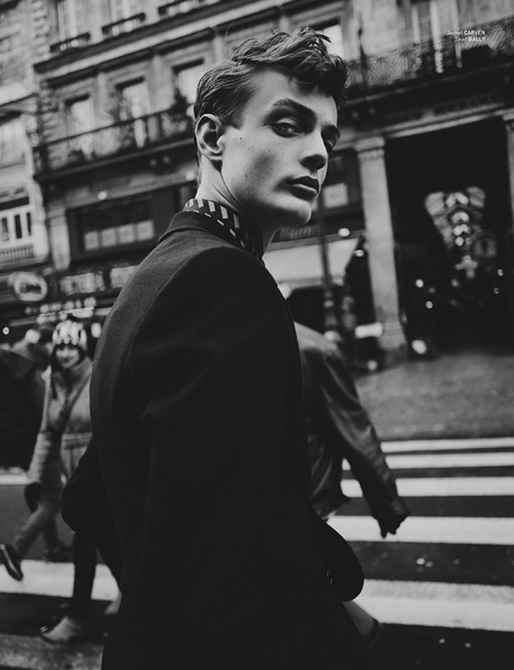 Charlie James at Bananas Models for Issue 8 by Fanny Latour-Lambert / Charlie James for Issue 8 / News / Boys by Girls