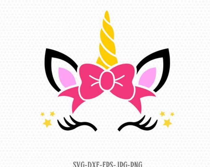 Cricut,Cute Unicorn face Svg,T-Shirt Unicorn SVG,Unicorn face Svg,Unicorn head Svg,Unicorn Clipart,vector,DXF,Jpg png,Silhouette Cut Files