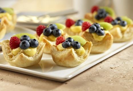 mini fruit desserts