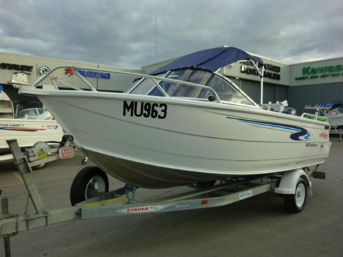 Saving up for this | Stacer 489 Baymaster Runabout | #Boating #Boats #BoatsforSale #StacerBoats #UsedBoats