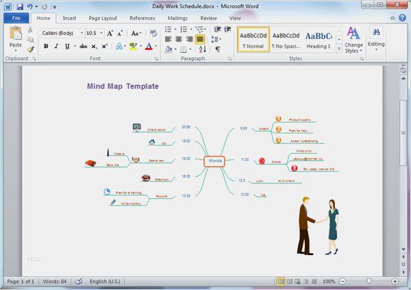 32 Wunderbar Mindmap Vorlage Word Modelle In 2020 Vorlagen Word Vorlagen Designvorlagen