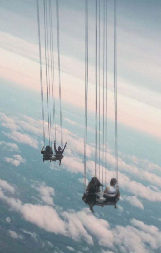 nas nuvens!