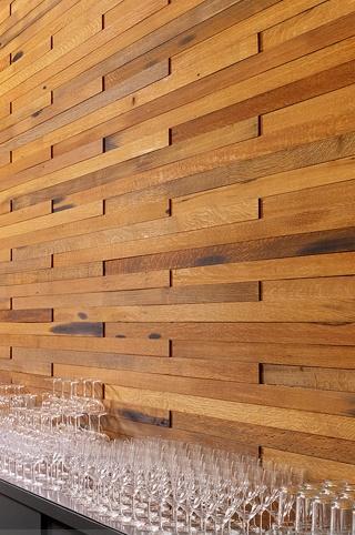 Wood wall.., basement...