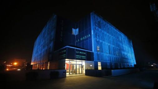 La Masia illuminated in blue to honour 70th anniversary of United Nations…