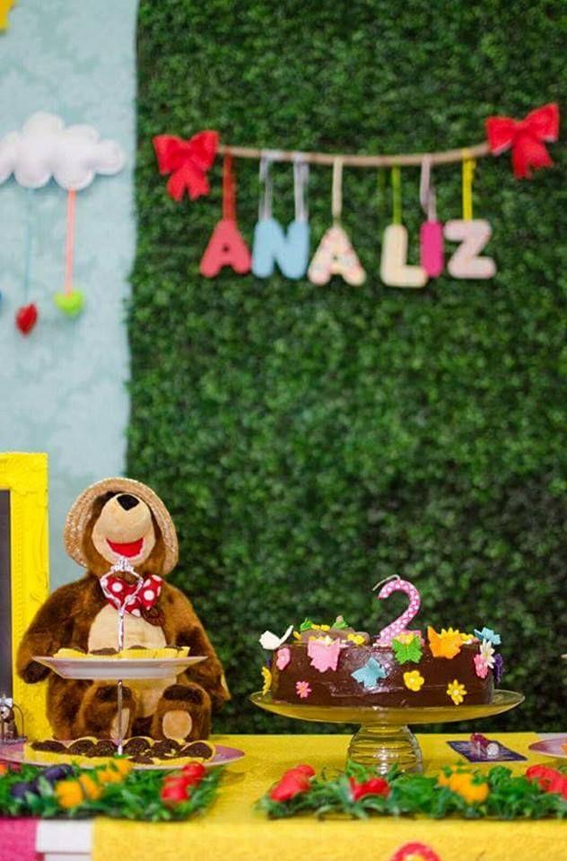 Mejores 292 imágenes de Festa Masha eo urso. en Pinterest ...