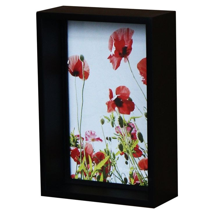 decorative shadow box style picture frame size x