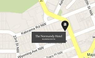 The Normandy Hotel, Dupont Circle, Washington DC