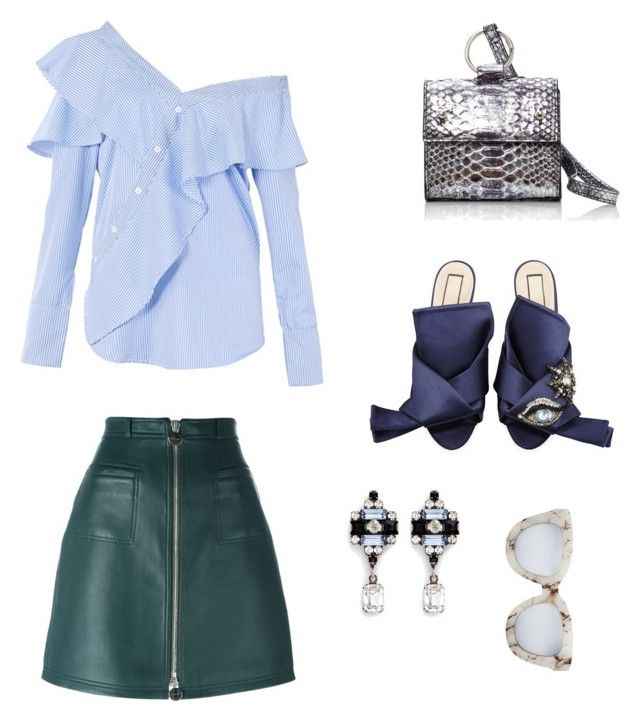 """Getting ready for spring"" by trend-anonymous on Polyvore featuring FAIR+true, N°21, Hayward, Carven, DANNIJO and Quay"