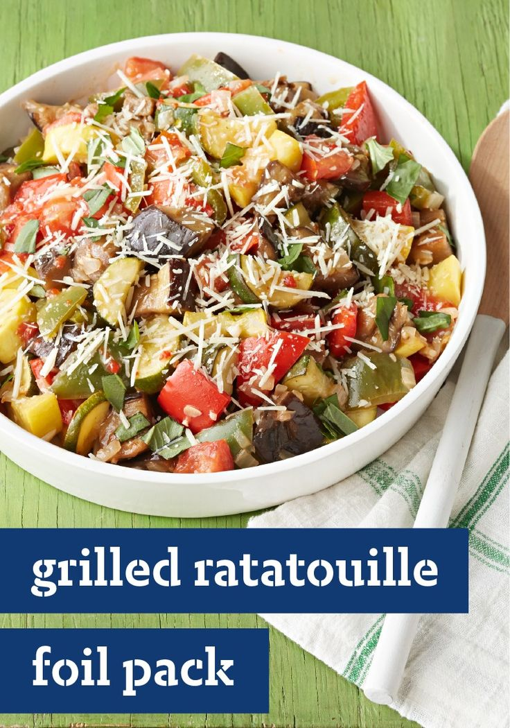 Grilled Ratatouille Foil Pack – Planning on making a ratatouille ...