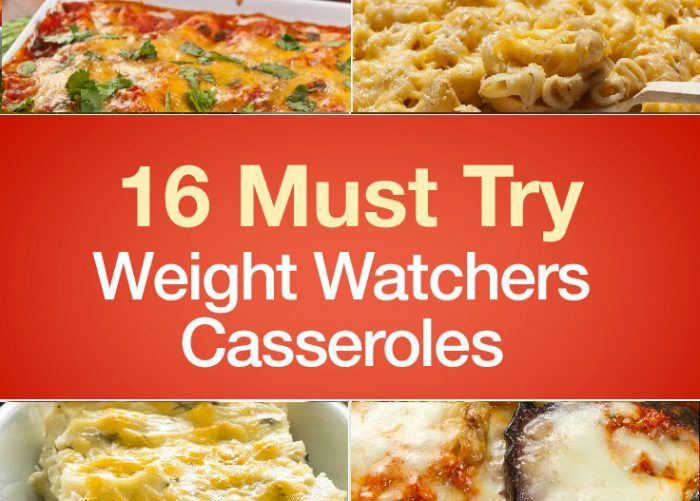 With recipes like these, casseroles are more than just convenient and comforting – they're crave-worthy! Start making room for them in your Weight Watchers meal plan today. 1. Chicken Taco Casserole (Weight Watchers) An easy and healthy way to enjoy Taco Tuesday with the family. See recipe deta…